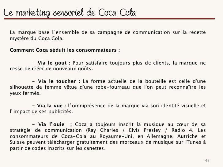 Conclusion et recommandations 1/2La présence de Coca Cola sur le web et les réseaux sociaux est massive etprépondérante. L...