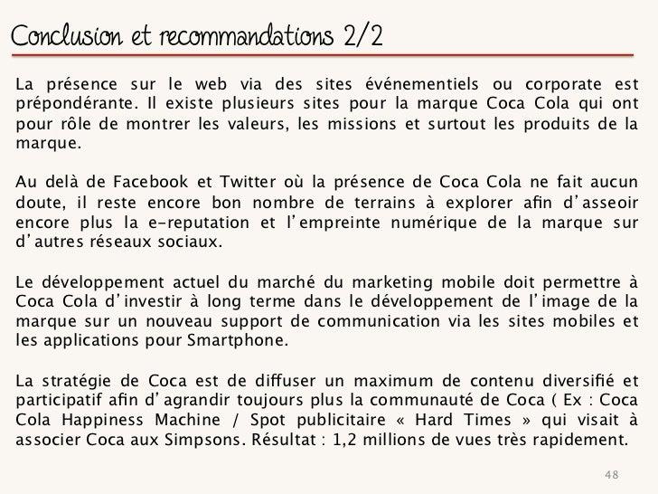 Portrait : Orangina aujourd hui      Chiffre d affaire de 520 millions d €uros en 2010 (+15%)     Concurrents directs : Fant...