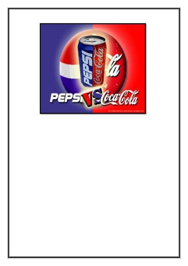 coke vs pepsi rivalry Coke vs pepsi are two brands which are known for their rivalry none of the market rivalry examples are complete unless you consider coke vs pepsi.