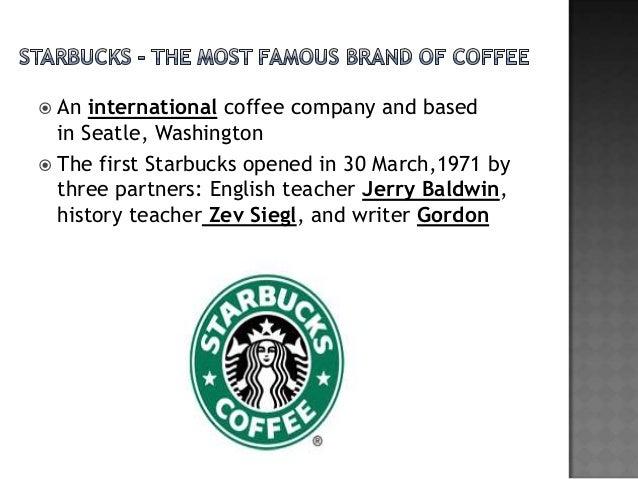Starbucks Corporation SuccessStory
