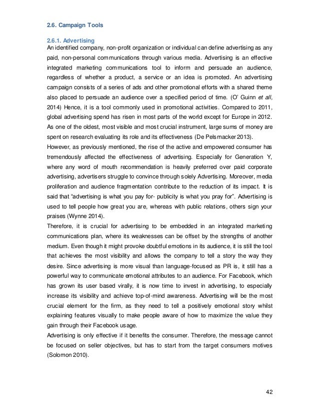 Phd thesis integrated marketing communication