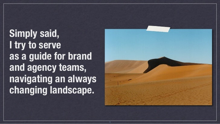 Brands And Digital Culture: It Doesn't Have To Suck Slide 3
