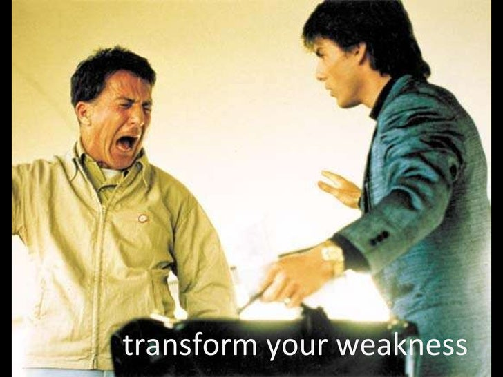 transform your weakness