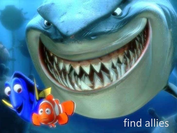 find allies