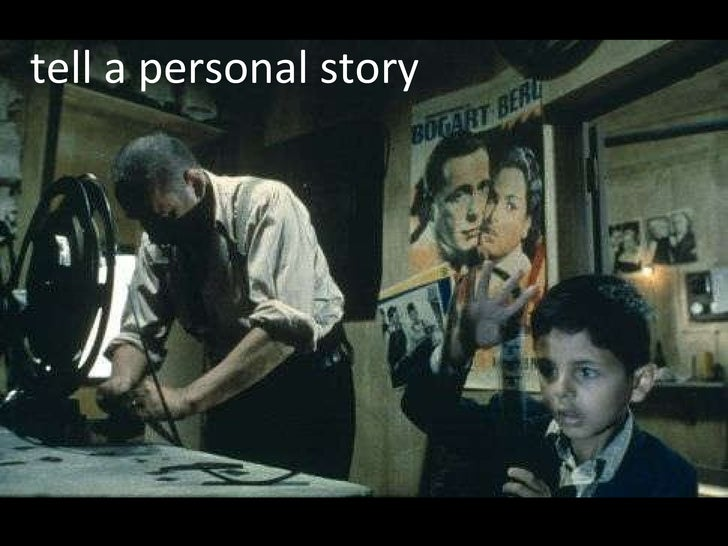 tell a personal story