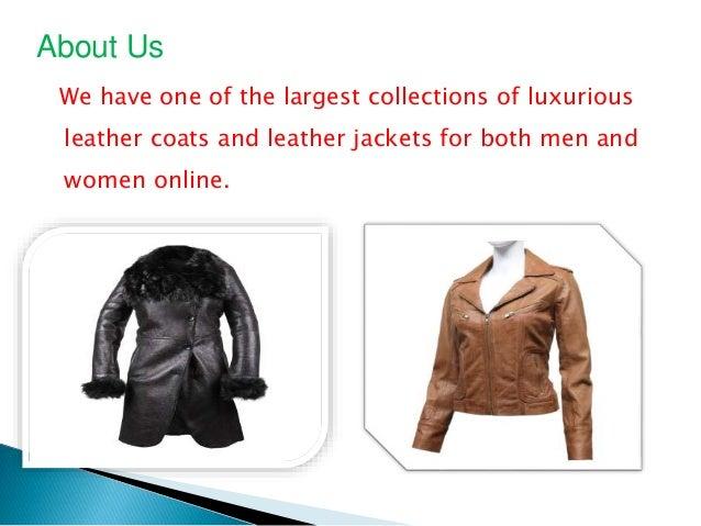 Leather Jackets: Men's Attires Slide 2