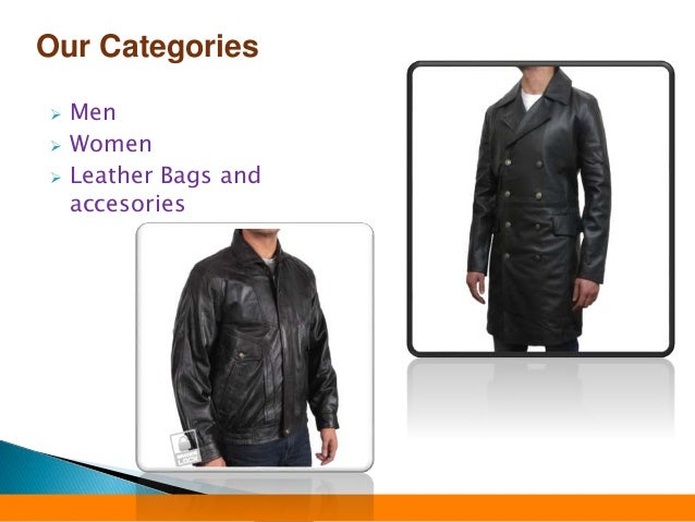 Leather Jackets: Men's Attires Slide 3