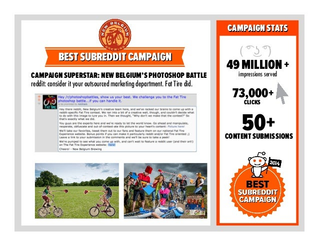 BRANDSTATS CAMPAIGN SUPERSTAR:REDDIT'S INNAGURALMAKER'SDERBY BRANDOFTHE YEAR CAMPAIGN COMMENTS CROSSPLATFORM SHARES 1,500+...