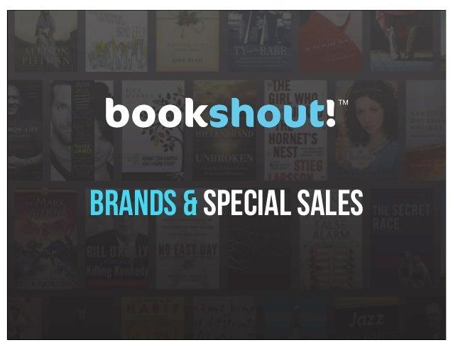 Brands & Special sales