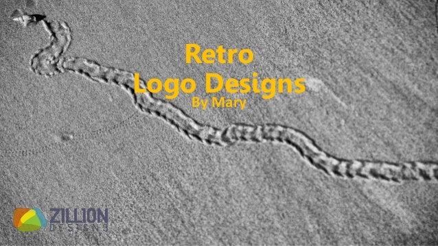 Retro Logo Designs By Mary