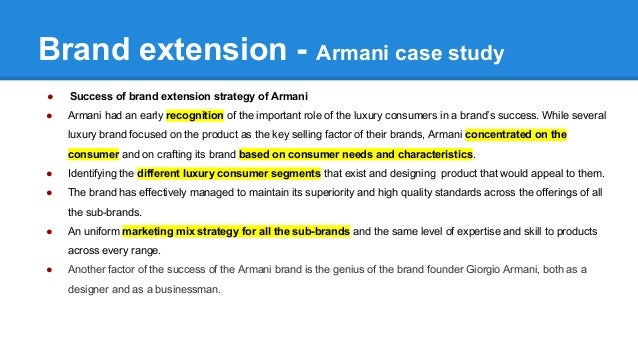 brand extension case study