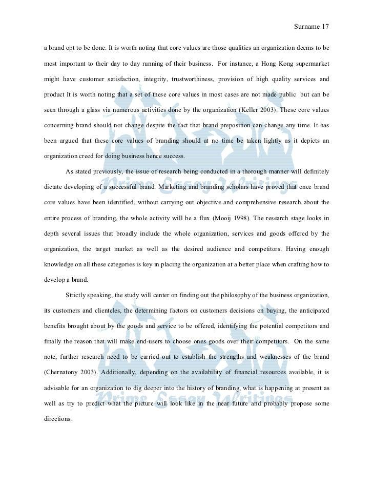 Exploratory dissertation