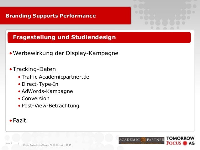 Brand to Perform 2010 Slide 2