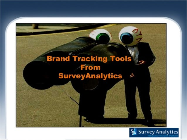 Brand Tracking Tools From SurveyAnalytics