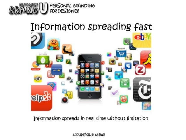 Information spreading fast Information spreads in real time without limitation
