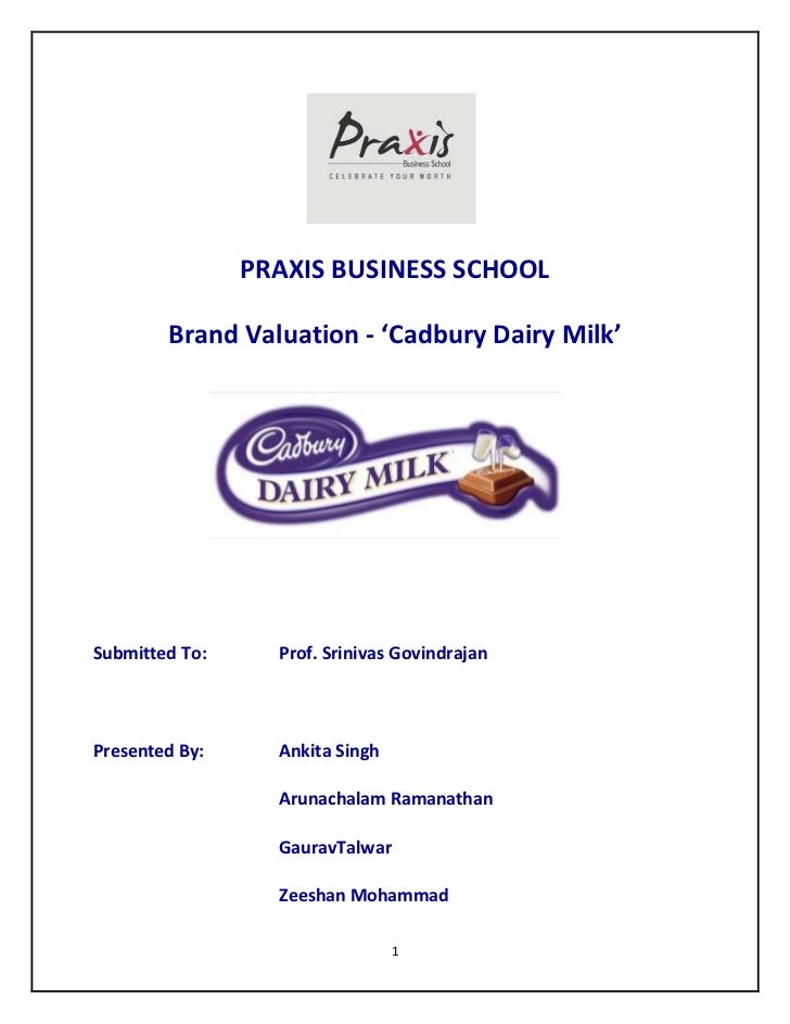 brand management of cadbury