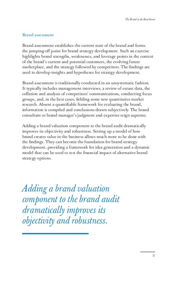 the brand in the boardroom making the case for investment in brand b
