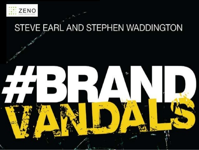 #brandvandals – the new book on the extremities of reputation risk today. And the world's first book with a hashtag as its...