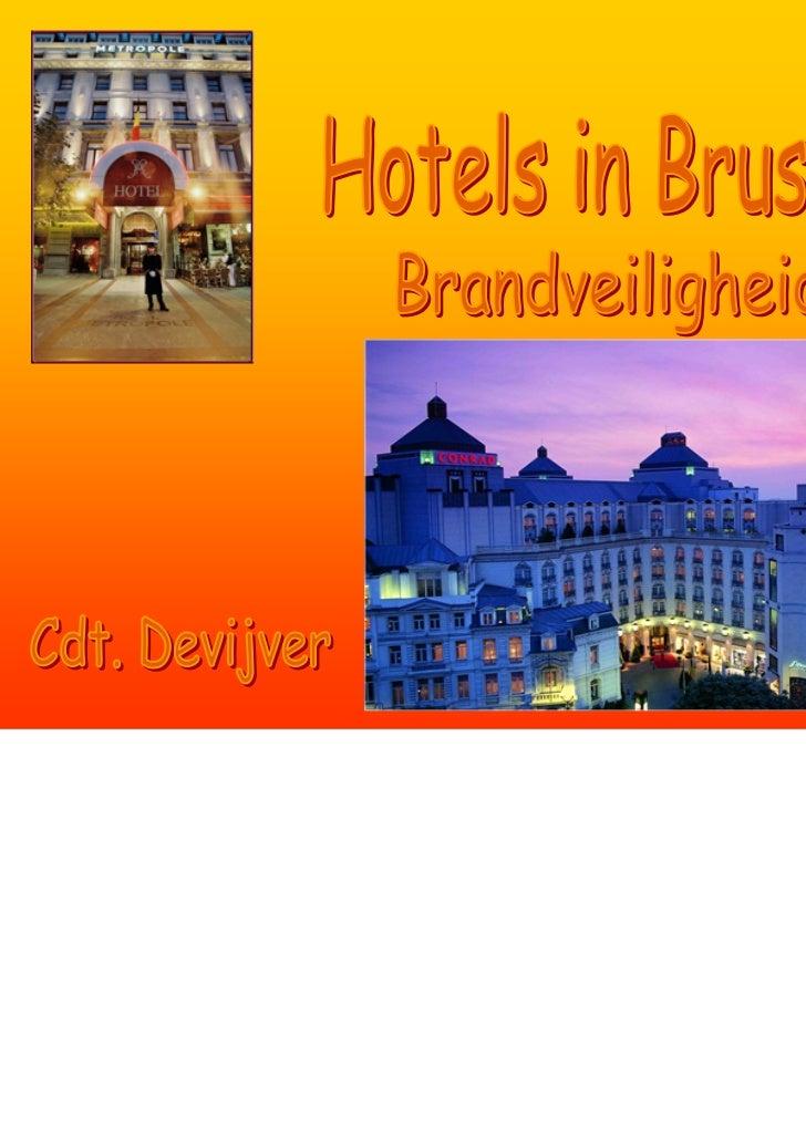 VoorstellingIvo Devijver Kapitein - commandant BHDBDMH Directeur van het OCBB (Opleidingscentrum van de Brusselse Brandwee...