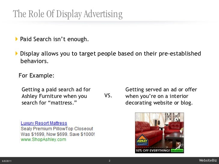 Brand vs. Direct Response Display Campaigns