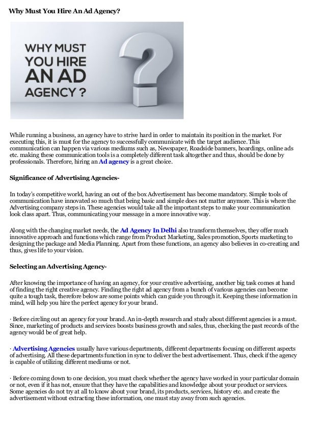 investigating different aspects of advertising essay Scribd es red social de lectura y publicación más importante del mundo.