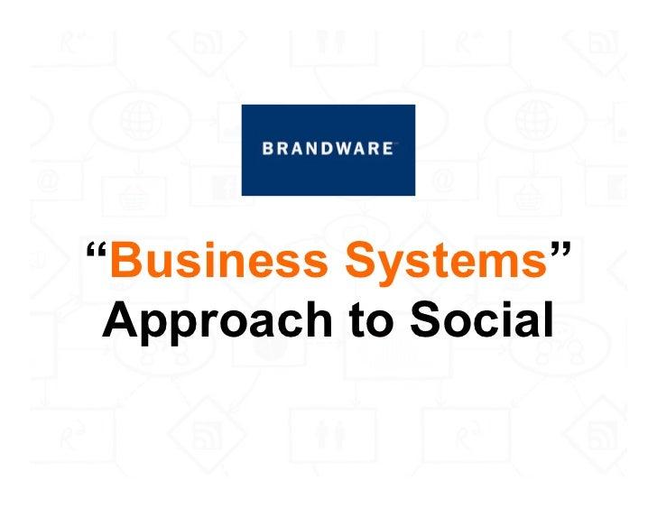 The Brandware Social Insights Playbook Slide 2