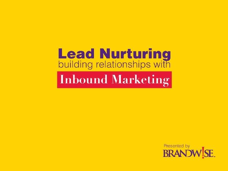 Brandwise Lead Nurturing Slide 1