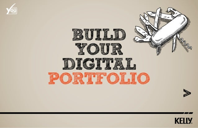 how to make a digital portfolio pdf