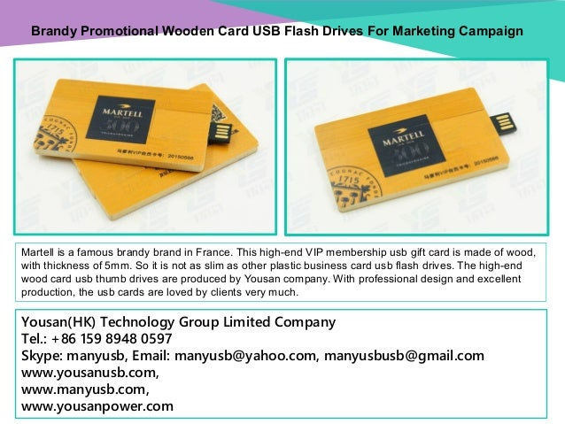 Brandy promotional wooden card usb flash drives for marketing brandy promotional wooden card usb flash drives for marketing campaign martell is a famous brandy brand reheart Gallery