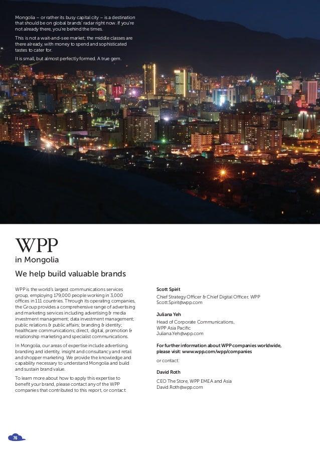 BrandZ Report Spotlight on Mongolia 2016