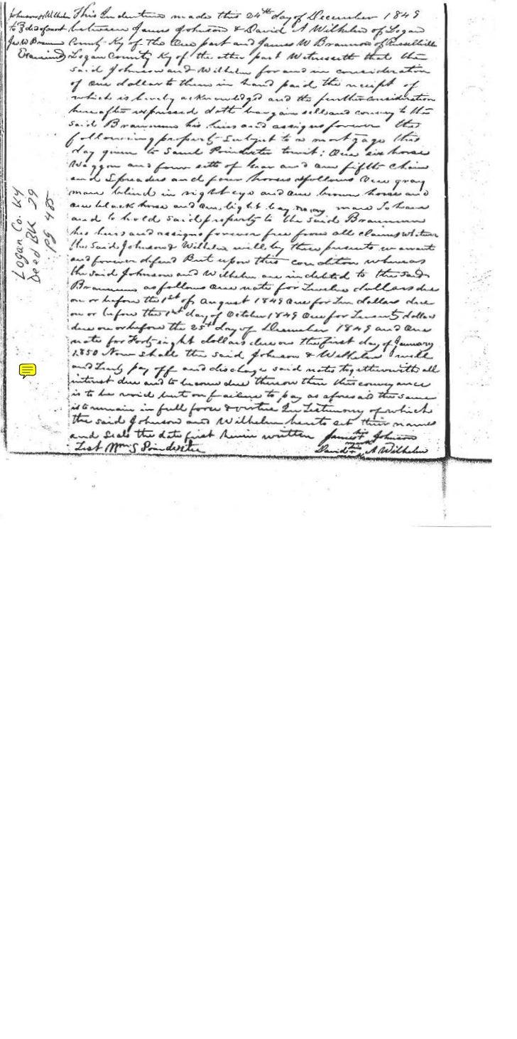 Brannum deeds in logan co, ky part 2
