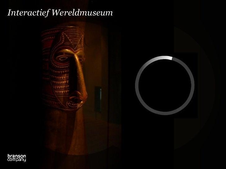 Interactief Wereldmuseum