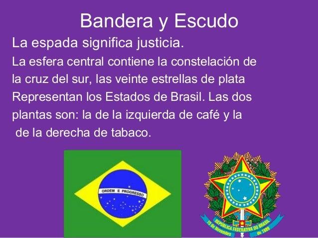 brasil bandera escudo significa