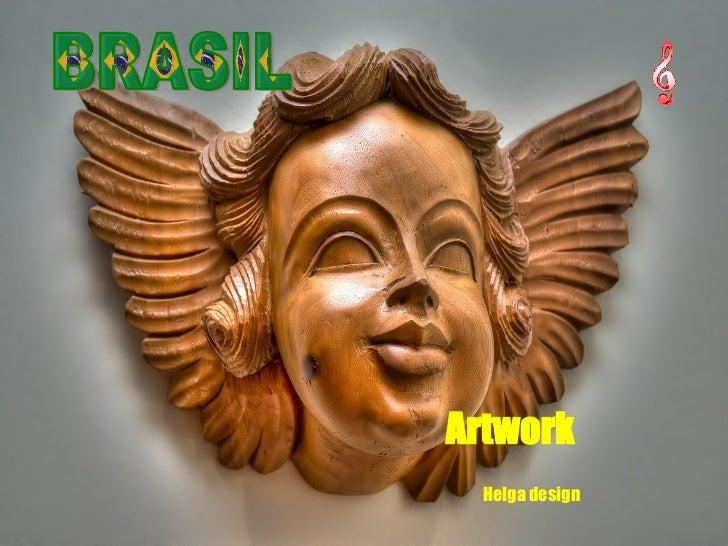 BRASIL Artwork Helga design