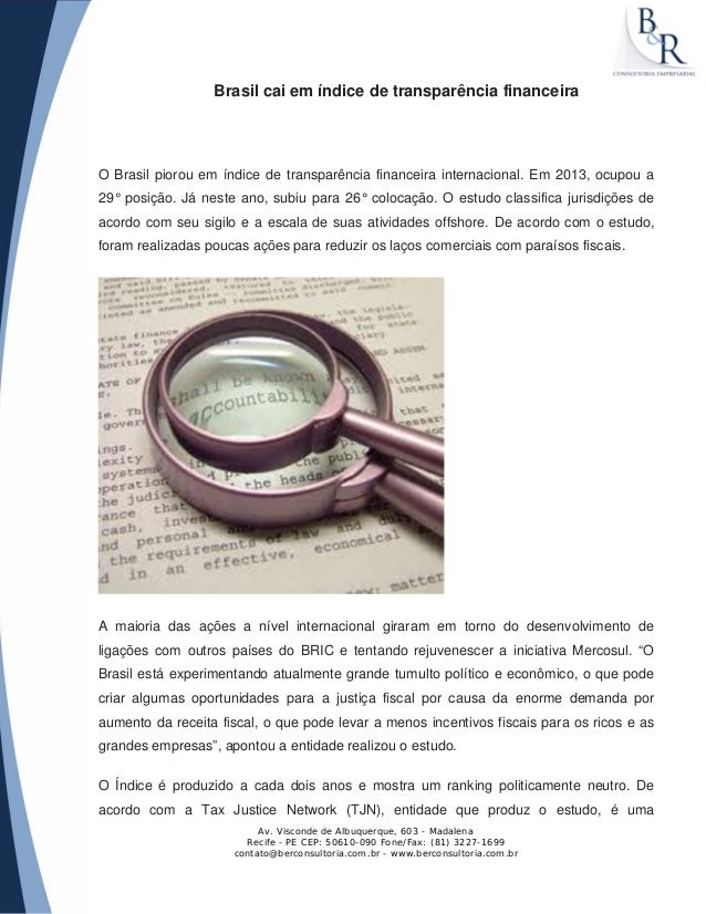 Av. Visconde de Albuquerque, 603 - Madalena Recife - PE CEP: 50610-090 Fone/Fax: (81) 3227-1699 contato@berconsultoria.com...