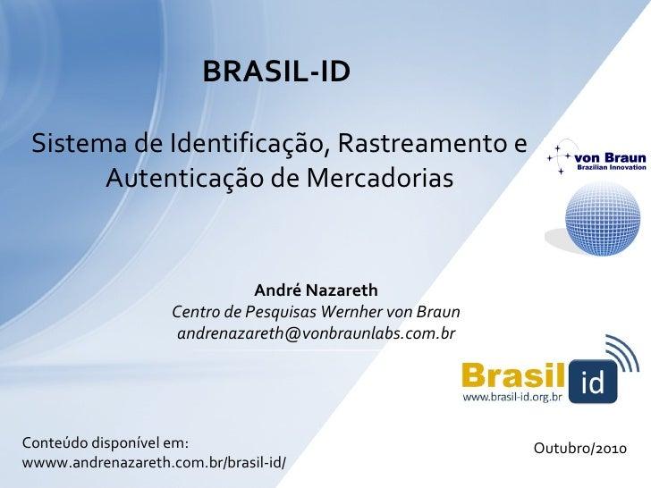 Brasil-ID - Andre Nazareth
