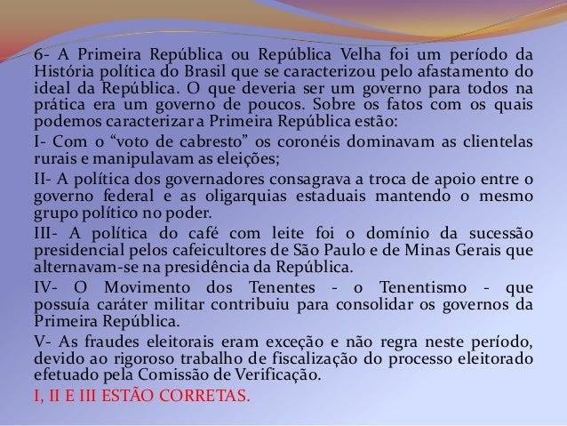Brasil - Primeira república