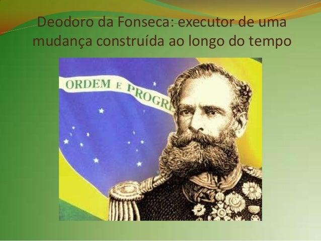 2. Proclamação da República   O     Governo     Imperial,    percebendo,     emboratardiamente, a difícil situação em que ...