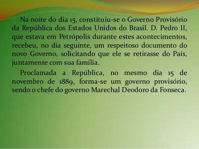 2. Os primeiros tempos daRepública  A transição para o novo regime foi feita sem grandesconflitos, alterações socioeconômi...