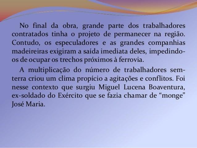 """Beato e curandeiro, o """"monge"""" ajudava os caboclos epregava uma sociedade igualitária. Seu propósito eraresistir aos que pr..."""