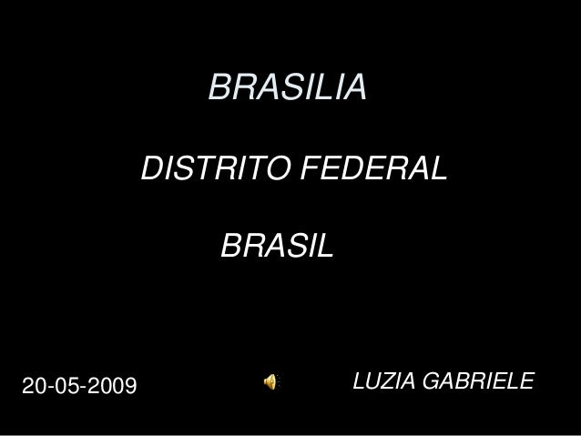 BRASILIA DISTRITO FEDERAL BRASIL  20-05-2009  LUZIA GABRIELE