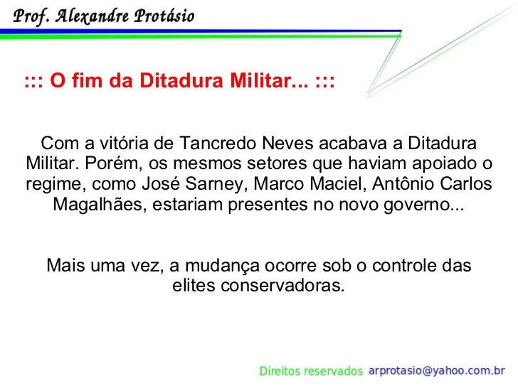 Brasil Ditadura Milita... Ditadura