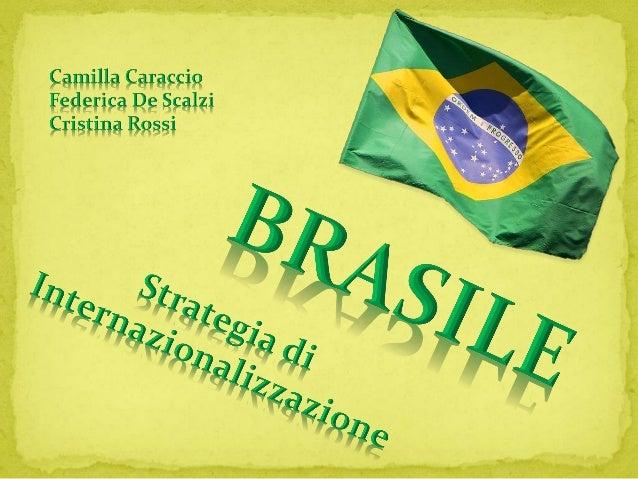SUPERFICIE: 8˙515˙767 kmq POPOLAZIONE: 201 mil abitanti (2013) CAPITALE: Brasilia LINGUA: Portoghese RELIGIONE: Cattolica ...