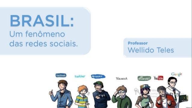 BRASIL: Fenômeno das Redes Sociais