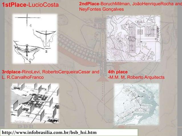 PLANO PILATO- BEST BY LUCIO COSTA  2010 Google Map Data; 2010 Map Link