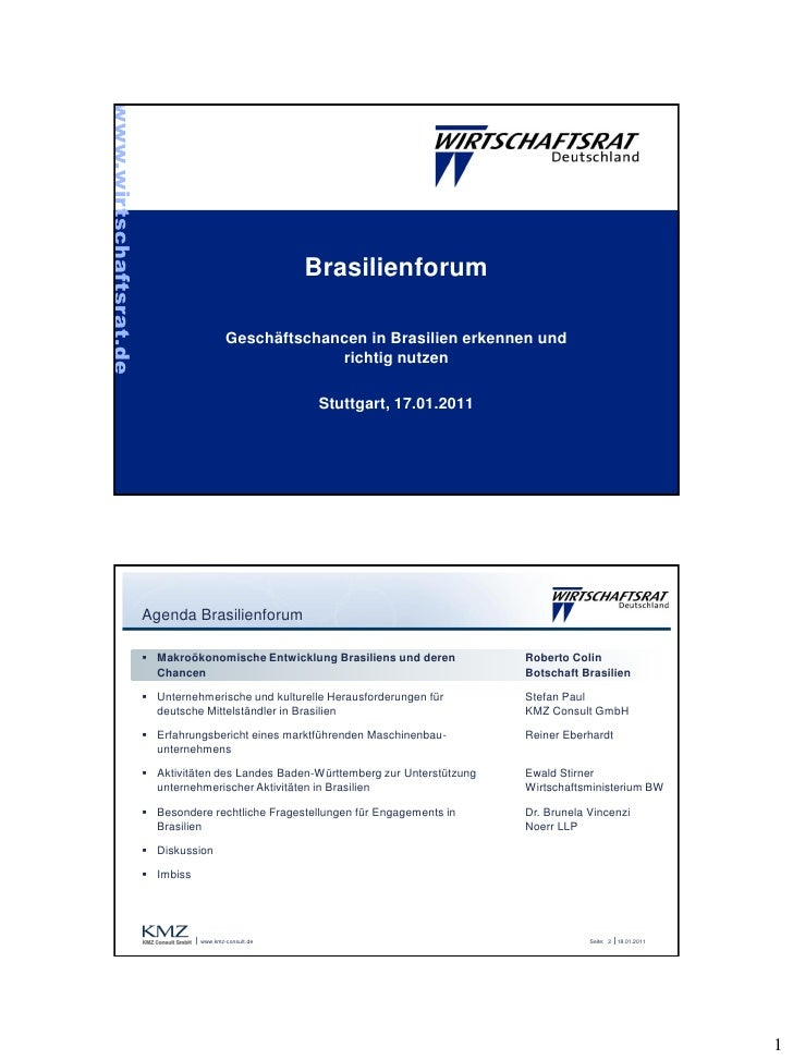 www.wirtschaftsrat.de                                                        Brasilienforum                               ...