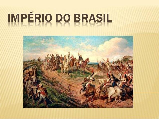  Foi o período em queD. Pedro Igovernou o Brasil comoImperador, entre1822e1831, ano de sua abdicação.