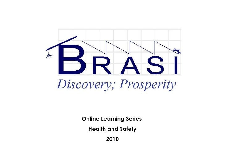Online Learning Series  Health and Safety 2010