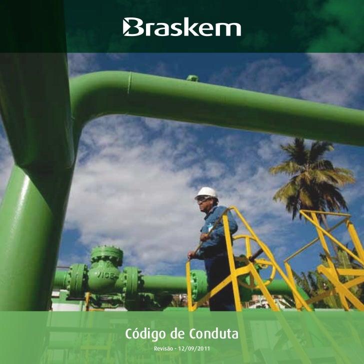 Código de Conduta    Revisão - 12/09/2011