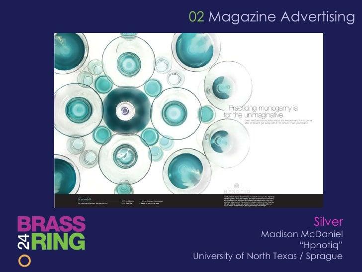 Brass ring awards24 18 02 magazine advertising silver madison junglespirit Images
